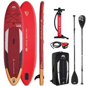 "Aqua Marina Atlas 12'0"" iSUP Package - Allround Advanced"