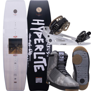Hyperlite Blacklist #2022 W/System Cable Wakeboard Package
