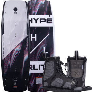 Hyperlite Kids Cryptic #2022 w/Remix Boat Wakeboard Package
