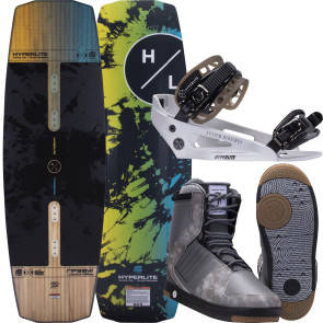 Hyperlite Ripsaw #2022 w/System Cable Wakeboard Package