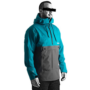 Follow Layer 3.1 Outer Spray Anorak 2021 Jacket - Teal
