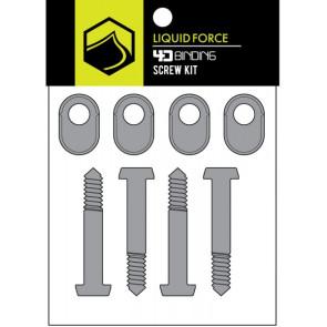 2019 Liquid Force 4D Screw Angle Lock - Set of 4