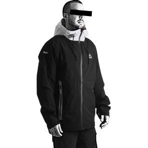 Follow Layer 3.1 Outer Spray Twelker 2021 Jacket - Black