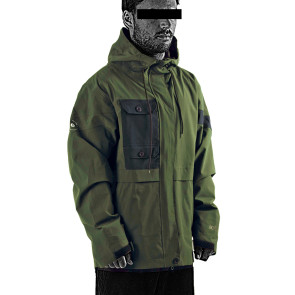 Follow Layer 3.1 Outer Spray Upstate 2021 Jacket - Olive